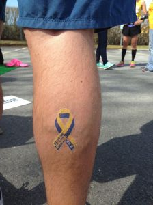 In honor of my wife and best friend and the Melanoma she had to have cut out of her right calf.